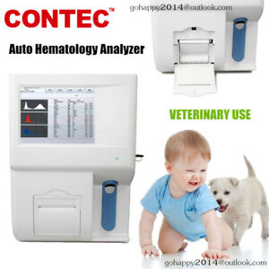 New Contec Kt 6300 Vet Auto Hematology Analyzer Veterinary Color Touch Screen