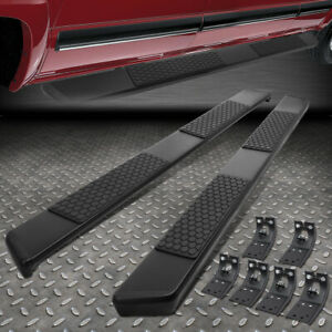 For 2009 2018 Ram Truck Crew Cab Pair 6 Aluminum Running Boards Side Step Bar