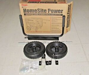 Onan Home site Power Wheel Handle Kit For Generator Never Flat Tires 0541 1295