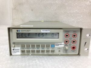 Hp Hewlett packard 3478a Multimeter