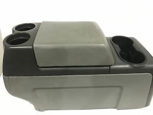 2004 2008 Ford F150 Center Console Armrest Cup Holders 1212
