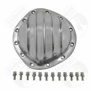 Polished Aluminum Cover For Gm 12 Bolt Truck Yukon Gear Axle