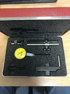 Starrett Metric Dial Test Indicator No 708ma 0 100 0 0 2mm Range 002mmgrad