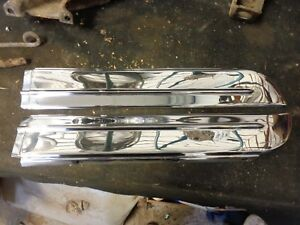 1949 Oldsmobile Rocker Moldings 76 Series Pair Rt And Lt 557094 557095