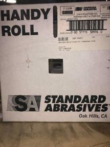 1 roll New Standard Abrasives 713296 Roll 2 W 50 Yd Lng 320 Grit