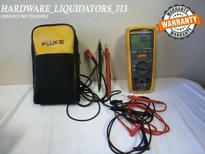 Fluke 1507 Insulation Resistance Tester With Test Lead Case fast Shipping