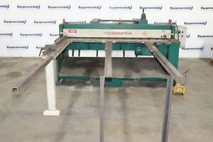 Tennsmith Mse616 6 X 16 Gauge Electro mechanical Squaring Shear