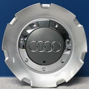 One 2007 2008 Audi S4 58810 18x8 14 Spoke Wheel Center Cap 8e0601165nsra New