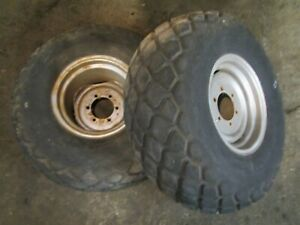 Massey Ferguson Mf 1030 Tractor Good Year 13 6 16 1 Rear Tires Rims
