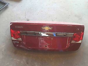 Trunk Decklid Tailgate Red Chevy Cruze Door Assembly 11 12 13 14 15 16 2013 Oem