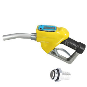 1xgasoline Oil Diesel Delivery Petrol Electronic Fuel Meter Nozzle Dispenser