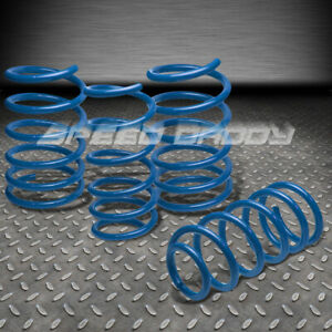 1 9 Drop Racing Suspension Lowering Springs spring 99 03 Mazda Prot G 5 Blue