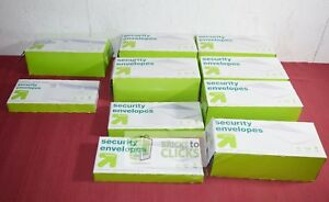Up up Security Envelopes 4 X 9 5 Self Seal Pull Seal Lot X10