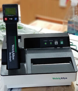 Welch Allyn Microtymp 2 Tympanometer And Printer used Fully Functional