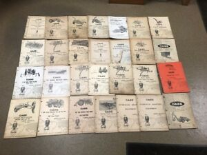 Lot Of 28 Vintage Collector Case Cultivator Row drill Planters Parts Catalogs
