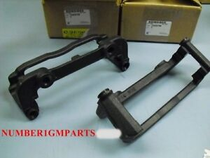 97 04 C5 Corvette Front Caliper Mounting Brackets New Gm 12455799 X 2 1997 1998