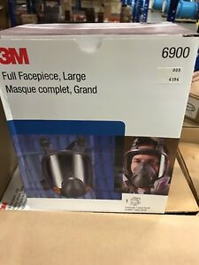 3m 6900 Full Face Respirator Size Large brand New Mask