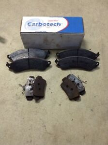 Carbotech Brake Pads Ct412 Xp20 Mustang 01 02 Full Front And Rear 2