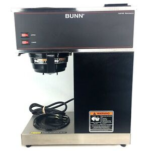 Bunn Commercial Restaurant Pour Over Coffee Maker Vpr Series Stainless Steel Usa