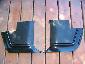 1967 68 69 Plymouth Barracuda Valiant Black Kick Panels Oem 2663128 2663129