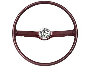 1968 1969 Ford Mustang Reproduction Steering Wheel Red