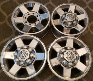 17 Dodge Ram 3500 2500 Chrome Oem Lariat Chrome Factory Stock Wheels Rims 1