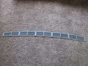 1957 1958 Plymouth Windshield Cowl Grill Or Fresh Air Grill Rare