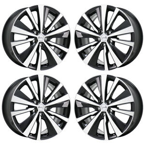 19 Nissan Altima Maxima Platinum Turbo Wheels Rims Factory Oem 2019 Set 4 96191