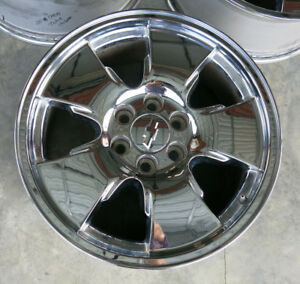 20 Chevrolet Silverado Gmc Sierra 1500 Yukon Chrome Alloy Wheels Rims Oem Tahoe