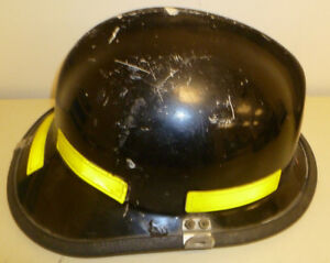 Firefighter Bunker Turn Out Gear Cairns 660c Black Helmet Reflector H177