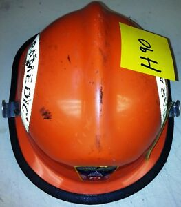 Firefighter Bunker Turn Out Fire Gear Cairns N660c Orange Helmet Reflector H90