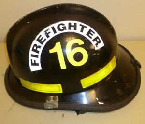 Firefighter Bunker Turn Out Gear Cairns 660c Black Helmet Reflector H175