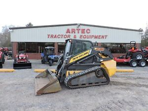 2013 New Holland C238 Skid Steer Loader Multi Terrain High Flow Hyds