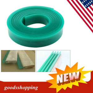 70 Durometer Silk Screen Printing Squeegee Rubber Blade Roll 6 Ft 5x180cm Top
