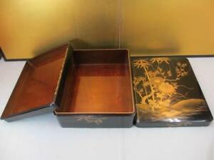 Gold Lacquer Letter Box