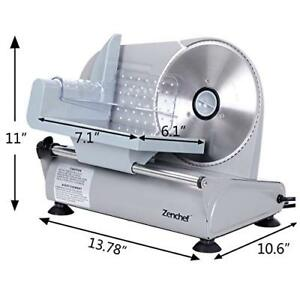 Super Deal Premium Stainless Steel Electric Meat Slicer 7 5 Inch Blade