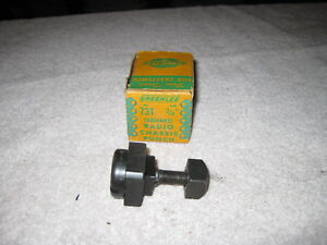 Greenlee No 731 Square Radio Chassis Knock Out Punch 3 4
