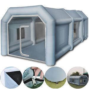 Inflatable Spray Booth Paint Tent Car Paint Wearable Anti uv 210d Oxford Fabric