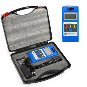 Wt10a Lcd Tesla Meter Gaussmeter Surface Magnetic Field Tester metal Probe Hot