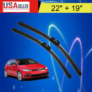 22 19 Windshield Wiper Blades Premium Oem Quality J Hook Blades Bracketless