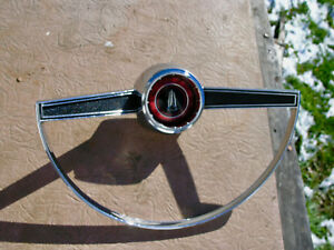 Horn Ring 1965 Plymouth Belvedere Ii Satellite With Plymouth Emblem