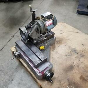 Cutter Master Inc Fcg 30 End Mill Grinder Sharpener W Air Spindle Used