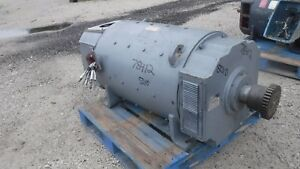500 Hp Dc General Electric Motor 1750 Rpm 5010ay Frame Dpfv 500 V