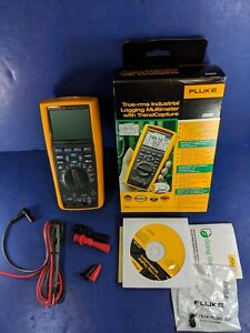 New Fluke 289 Trms Industrial Logging Multimeter Box Jan 2018