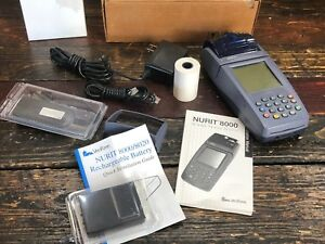 30356 Verifone Nurit 8000 Wireless Credit Card Terminal Payment Processor