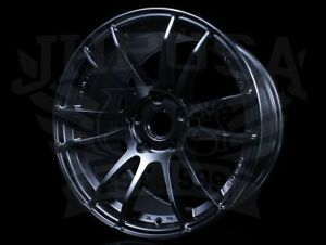 Rays Gram 57 Motorsport G07ex Semi Gloss Black 18x9 5 5x120 35 Civic Type R Fk8