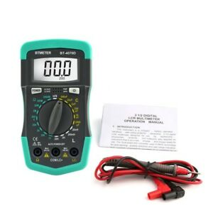 Btmeter Hp4070d Mini Digital Multimeter Resistance Meter Capacitance Inductance