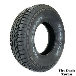 4 Four New Lt265 75r16 10 Ply Trail Guide All Terrain 2657516 R16 Tire Tgt39