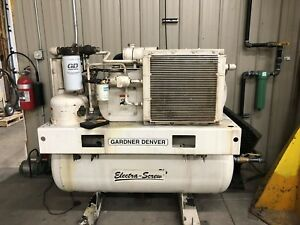 30hp Gardner Denver Rotary Screw Air Compressor Model