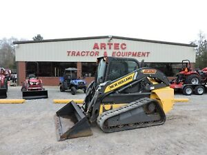 2013 New Holland C232 Skid Steer Loader Enclosed Cab video Only 1428 Hours